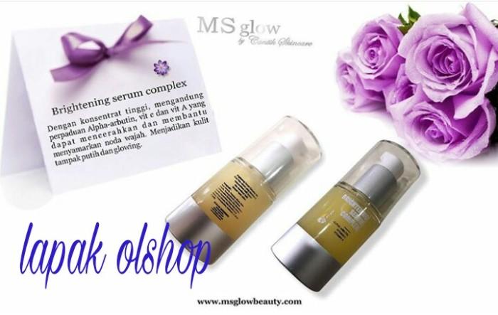 Brightening Serum Complex | Serum Arbutin++ Ms Glow By Cantik Skincare