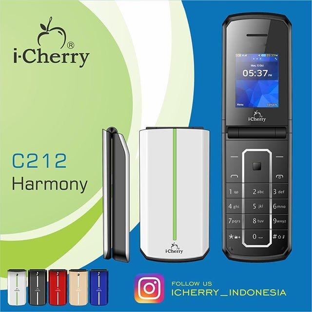 harga Handphone flip i-cherry c212 harmony lcd 1.8 inch dual gsm camera mp3 Tokopedia.com