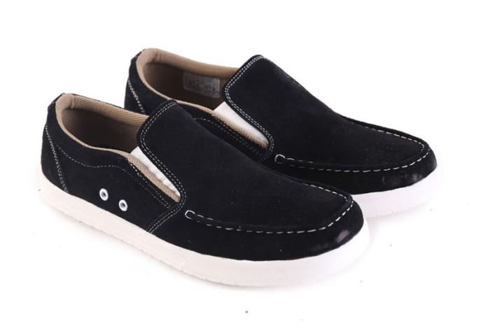 harga Sepatu casual pria sepatu slip on pria sepatu garsel murah l 087 Tokopedia.com