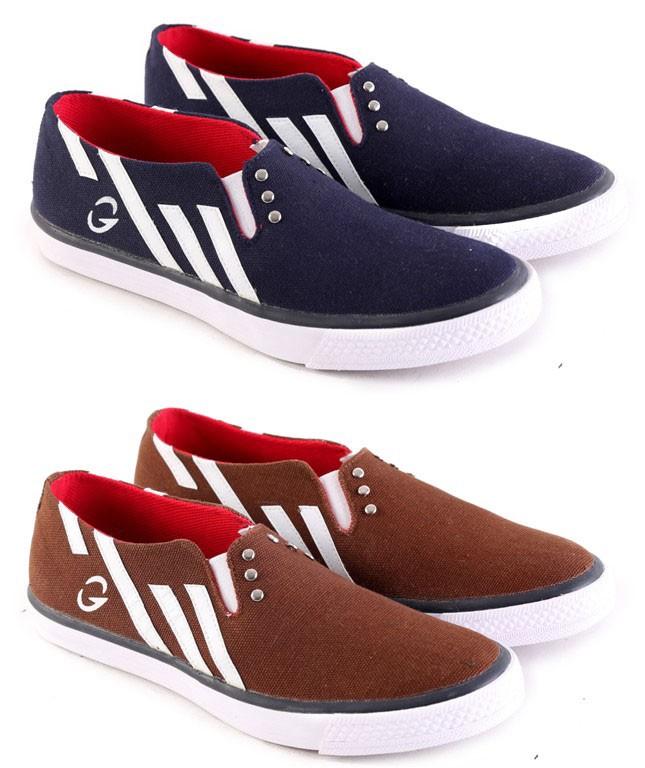 harga Sepatu casual pria sepatu slip on pria sepatu garsel murah l 086 Tokopedia.com