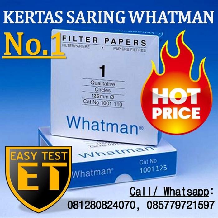 Foto Produk Filter Paper / Kertas Saring | Whatman No.1 | 1001-125 Super Murah dari Sooper Shop