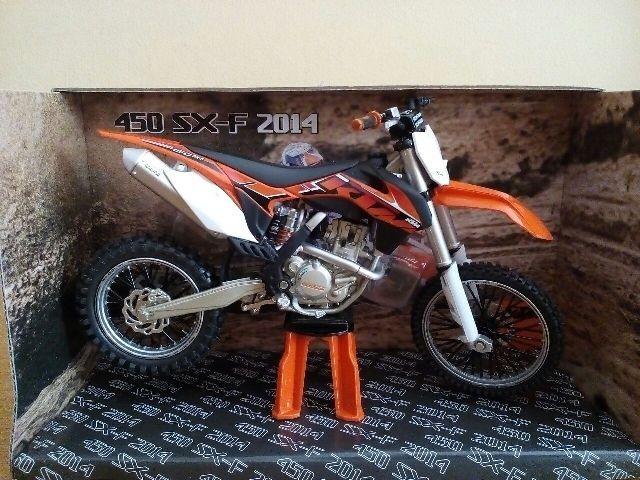 harga Miniatur diecast motor cross trail ktm 450 sx-f 2014 harga murah Tokopedia.com
