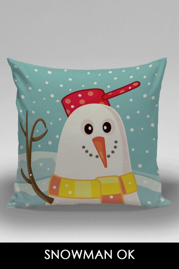 harga Kado natal bantal dekorasi sofa / mobil - snowman ok Tokopedia.com