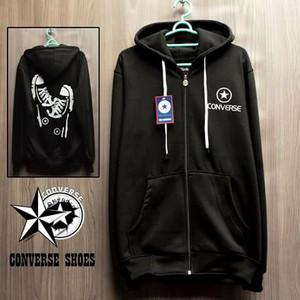 harga Jaket converse shoes hitam hoodie pria wanita murah sweater adidas Tokopedia.com