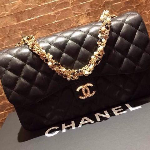 Super MS1224 Tas Chanel Classic KW Super Premium - Black. Toko tidak aktif  selama lebih dari ... e99f52205c