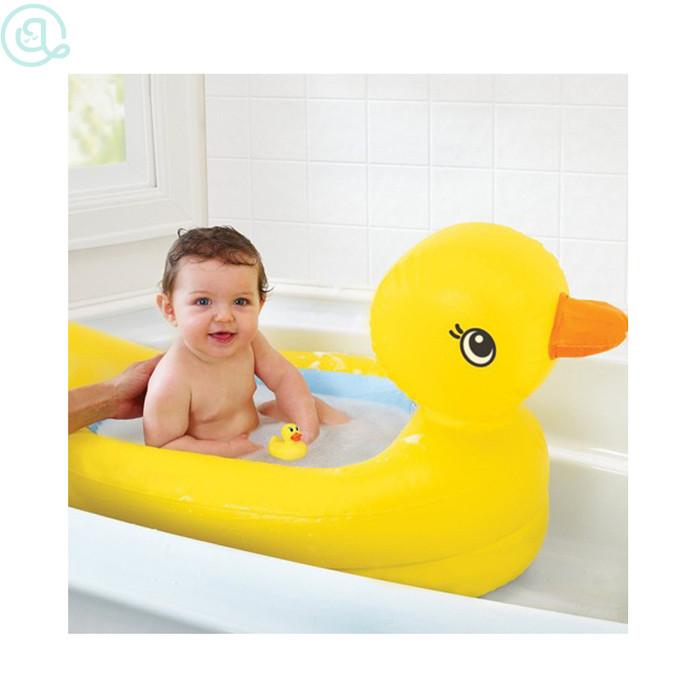 MURAH Munchkin Inflatable Duck Tub / Bak Mandi Bebek Munchkin