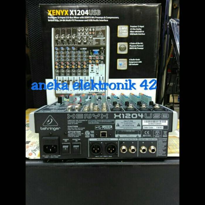 harga Mixer behringer xenyx 1204 usb Tokopedia.com