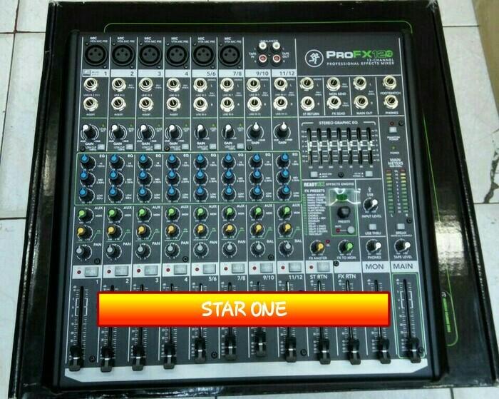 harga Mixer mackie pro fx-12 v2 original garansi resmi 1 tahun Tokopedia.com