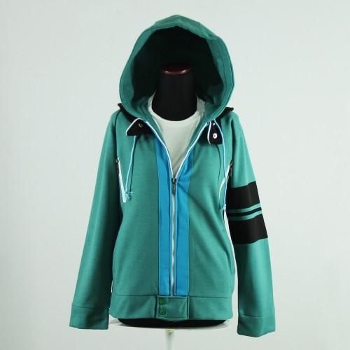 Tokyo Ghoul Ken Kaneki Jacket Jaket Anime Cosplay Hijau S