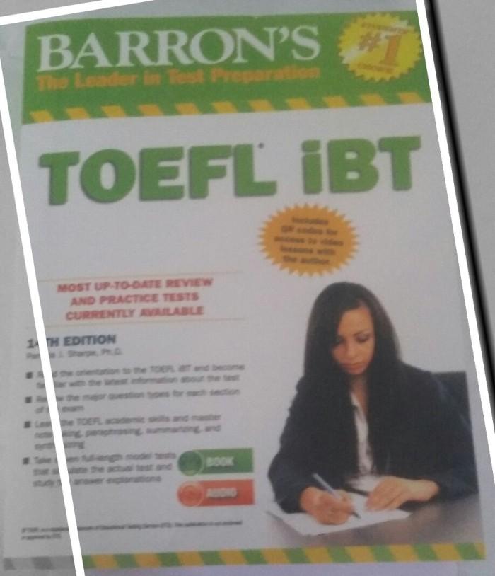 harga Barron's toefl ibt 14th edition with answer key and cd audio Tokopedia.com