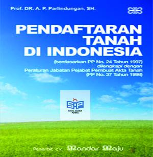 harga Buku pendaftaran tanah di indonesia parlindungan sh mandar maju pg Tokopedia.com