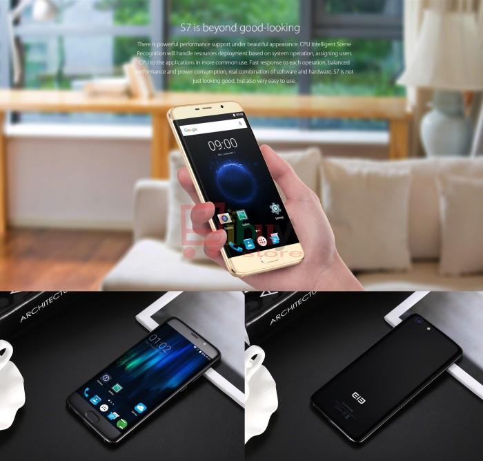 harga 'elephone s7' 4g phablet 4gb ram + 64gb rom android 6.0 deca core Tokopedia.com
