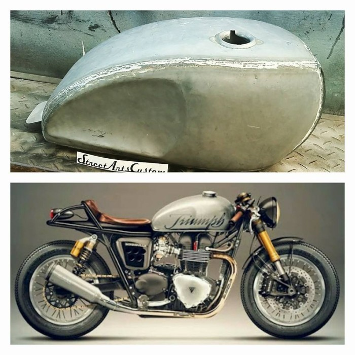 Jual Tangki Motor Klasik Neo Bratz Custom Seratusribuan Shop