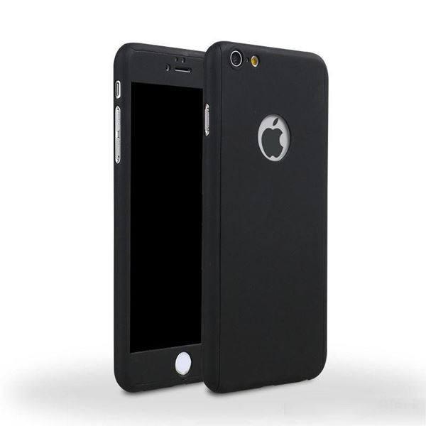 Hardcase Full Casing Cover 360 Iphone 6/6s Fullset Free Tempered Glass ...