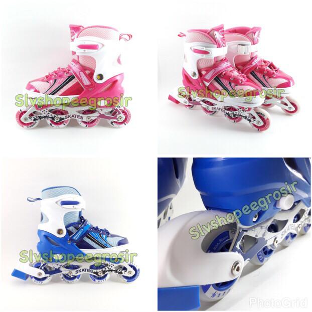 harga Distributor agen new inline skate sepatu roda anak dewasa size s m l Tokopedia.com