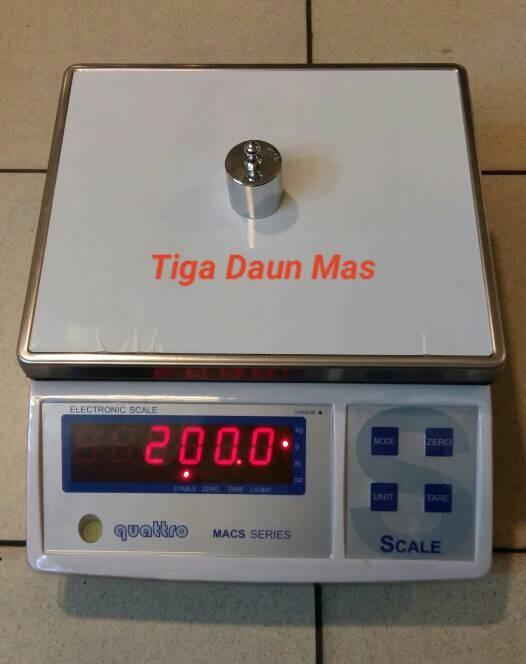 harga Timbangan duduk digital quattro macs-w Tokopedia.com