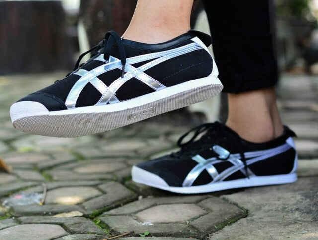 Sepatu sneakers wanita kuliah trend main asics onitsuka tiger deluxe d568b9bdef