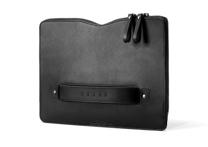 "harga Mujjo 12"" carry-on folio sleeve for macbook - hitam Tokopedia.com"