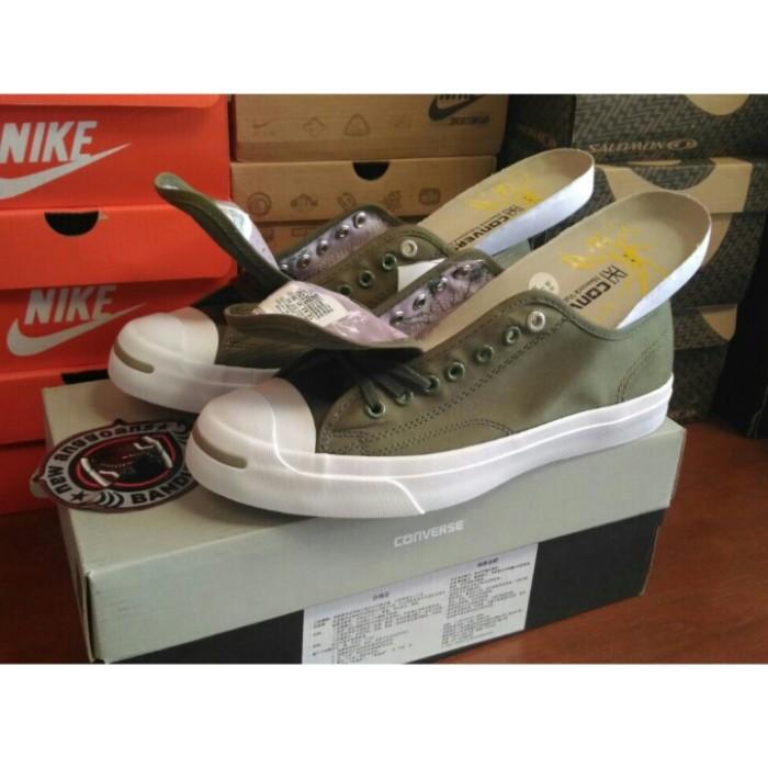 Jual Sepatu Converse CT JACK PURCELL Green Olive   ORIGINAL PREMIUM ... 1c40a5b80d