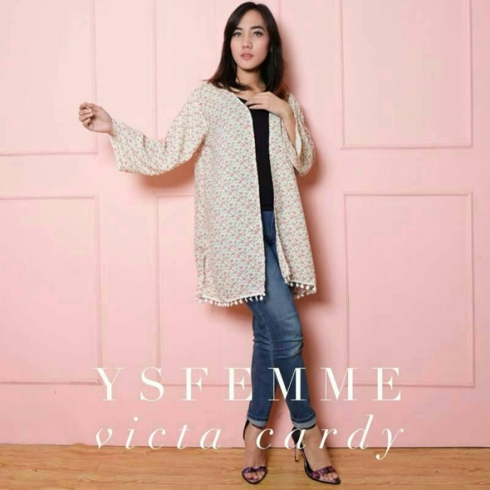 Victa Cardy (outer cardy chiffon)