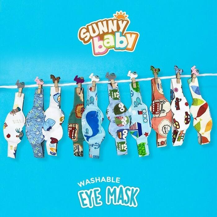 harga Sunny baby washable cloth baby eye mask protector kacamata jemur bayi Tokopedia.com