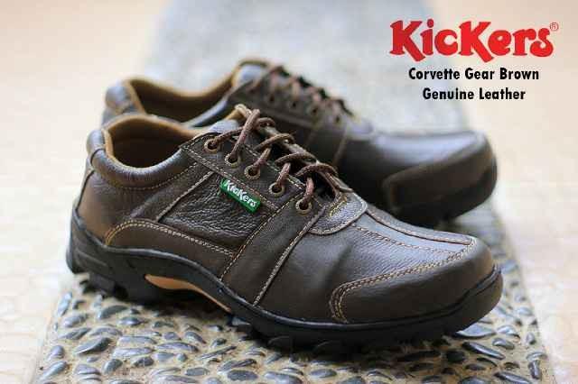 harga Sepatu pria semi boot tracking hiking kickers kulit sapi asli awet Tokopedia.com