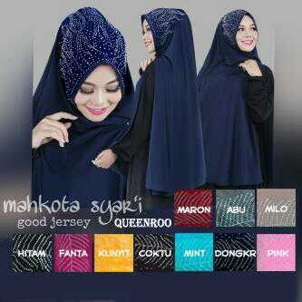 Khimar jilbab hijab syari queenroo