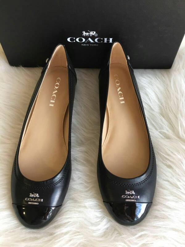 ... 50% off jual sepatu coach chelsea black flat shoes coach ori 527be 15097 d222d35753