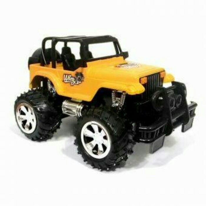 harga Mainan mobil rc jeep storm/merah kuning Tokopedia.com