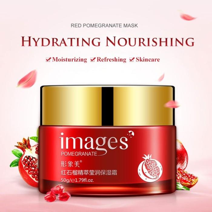 harga Images red pomegranate face cream krim wajah pelembab moisturizer Tokopedia.com