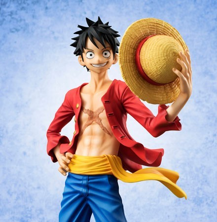 Excellent Model P.O.P One Piece Sailing Again Monkey D Luffy Me... FROM JAPAN