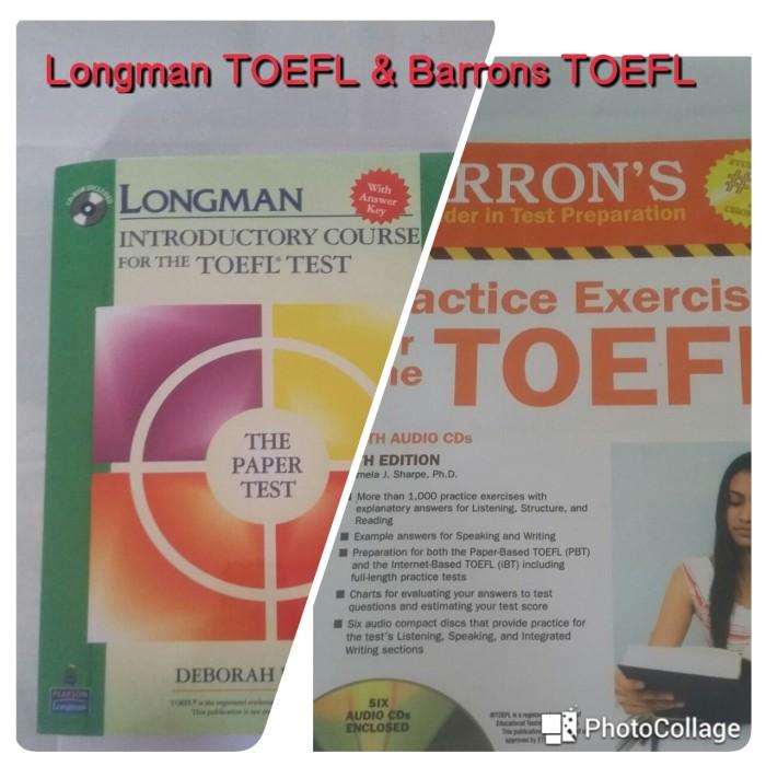 harga Barrons toefl & longman introductory toefl (2 buku) Tokopedia.com