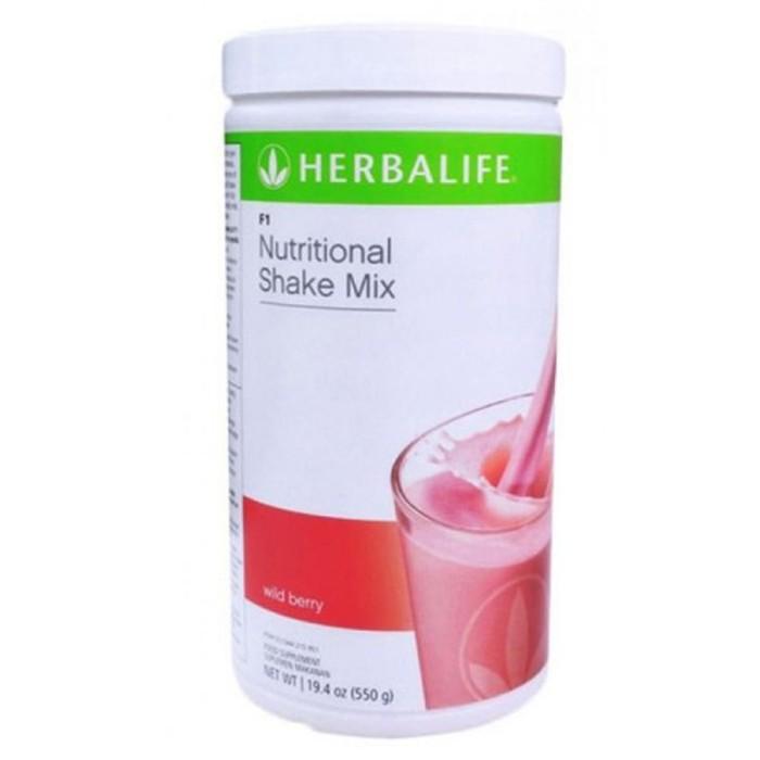 harga Herbalife#shake#milk# Wildberry/ Berry F1 H Tokopedia.com