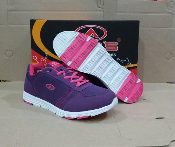 Jual Sepatu Olah Raga Wanita Warna Ungu Sepatu Running