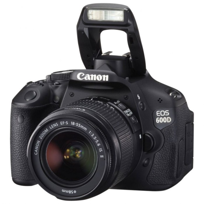 harga Kamera canon eos 600d kit 18-55 is ii Tokopedia.com