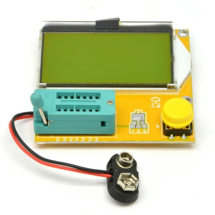 harga New m328 digital transistor triode capacitance esr meter mos/pnp/npn Tokopedia.com