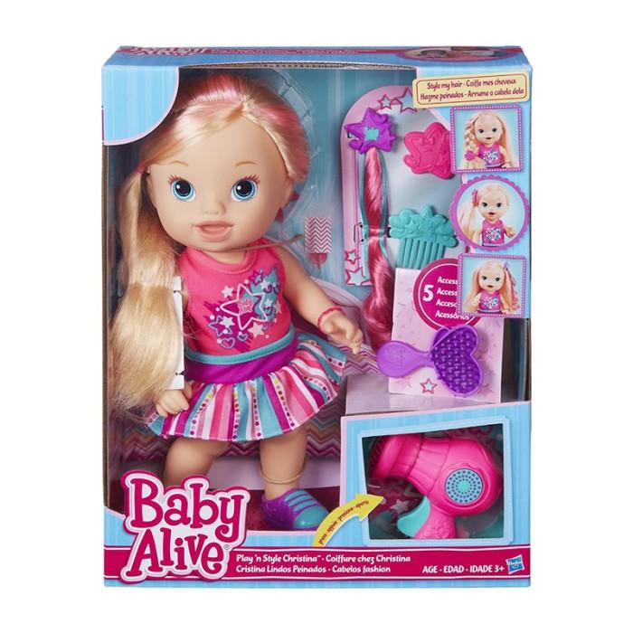 harga Baby Alive Play N Style Christina Doll (blonde) - B1448 Tokopedia.com