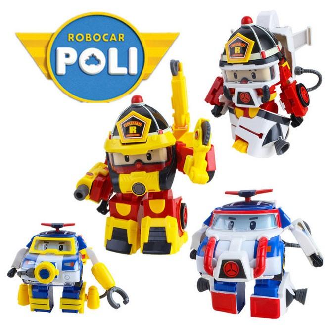 ROBOCAR POLI / ROY ACTION PACK SPACE / DIVING / FIREMAN