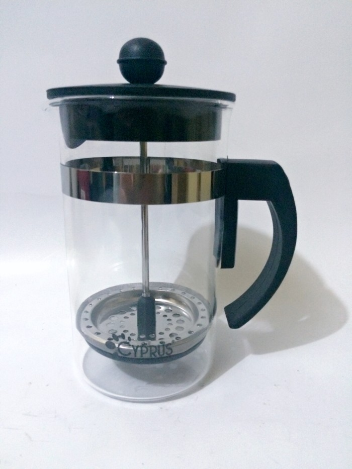 harga Cyprus french press / plunger / coffee maker 350 ml for 3 cups Tokopedia.com