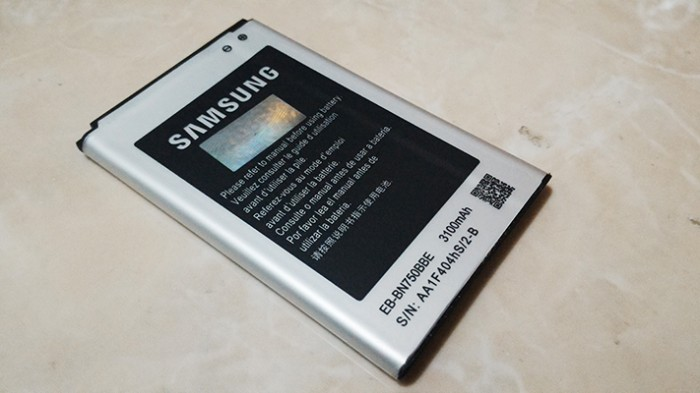 harga Battery/baterai/batrai hp samsung galaxy note 3 neo n750 / eb-bn750bbe Tokopedia.com