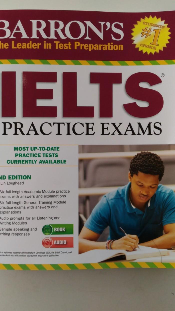 harga Barrons ielts practice exams with audio cd 2nd edition Tokopedia.com