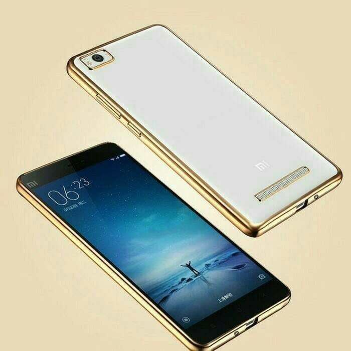 4a Silver Source · Softcase Silicon Jelly Case List Shining Chrome for Xiaomi .