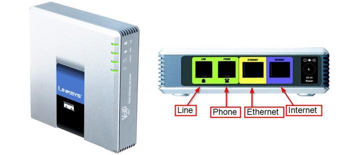 harga Voip cisco linksys spa3102 voice gateway with router 1 fxo 1 fxs 2 lan Tokopedia.com