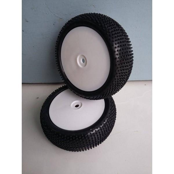 harga Rc ban / velg / tyre / tire buggy 1/10 offroad pin (4pcs) Tokopedia.com