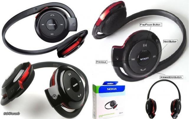 harga Headset bluetooth nokia bh-503 Tokopedia.com