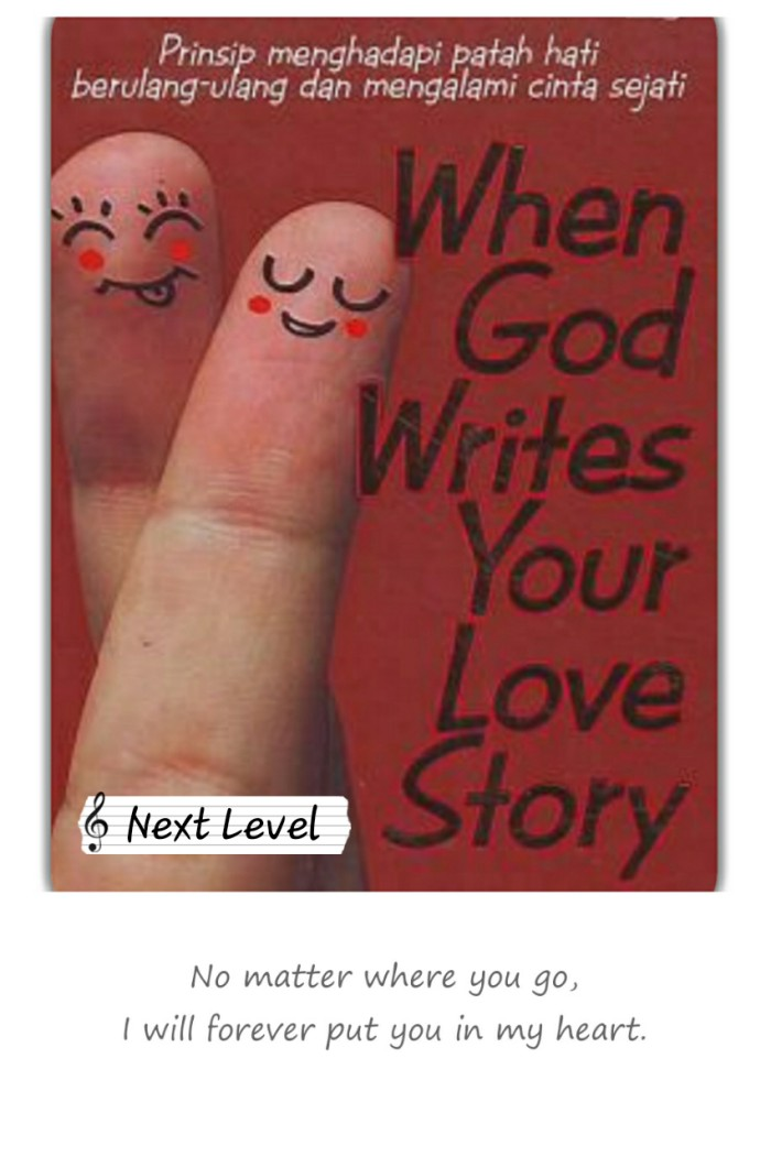 ISABEL: God writes your love story