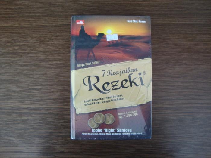 harga 7 keajaiban rezeki + cd Tokopedia.com