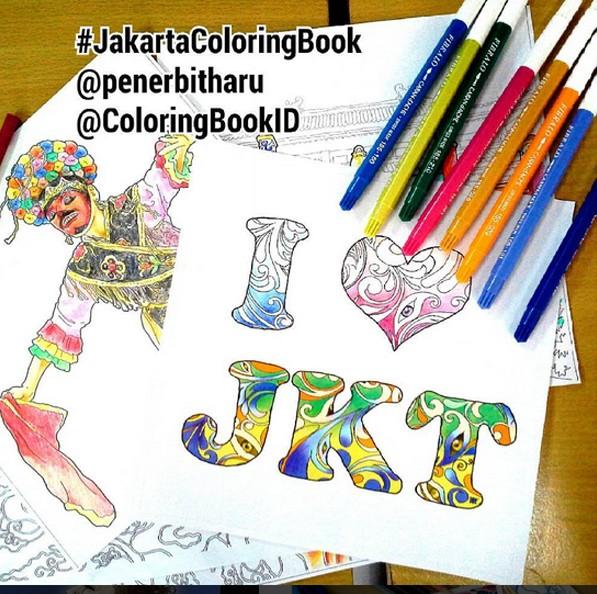 Jual Jakarta Coloring Book