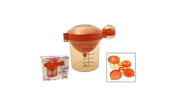 harga Kitchen mate set 5 in 1 peras jeruk pisah telur corong parutan wadah u Tokopedia.com