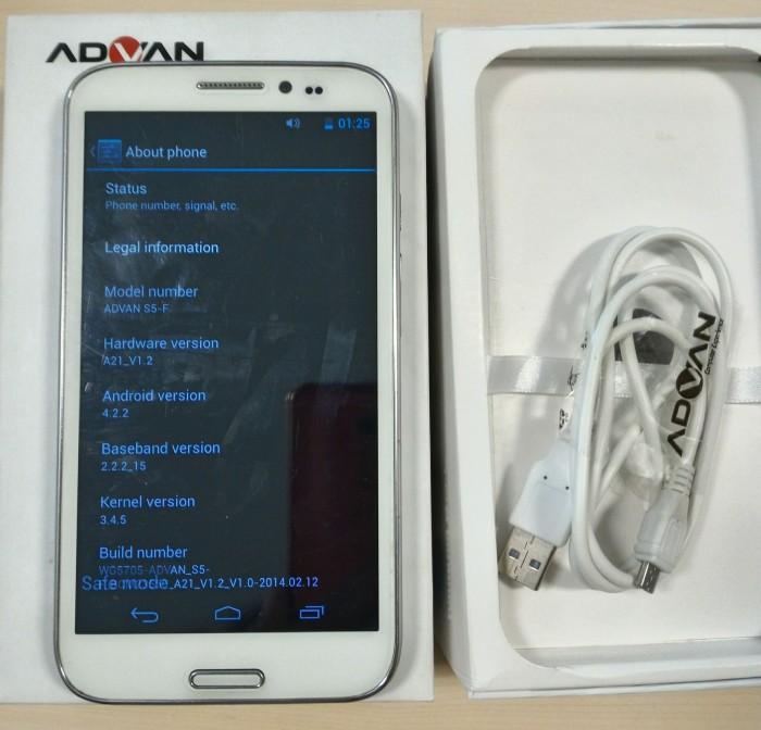 Advan Vandroid S5 F Putih